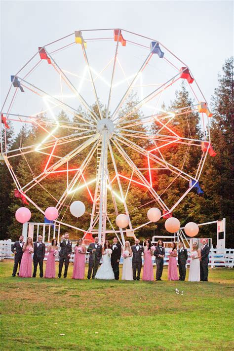 Carnival Inspired Wedding from Alders Photography