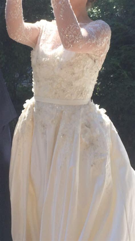 Elie Saab MONET by Pronovias Used Wedding Dress on Sale 70