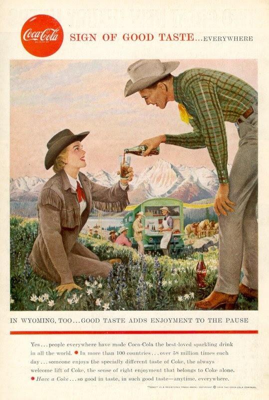 The National Geographic Magazine - Pub. Coca-Cola 1952-1965 > 1958