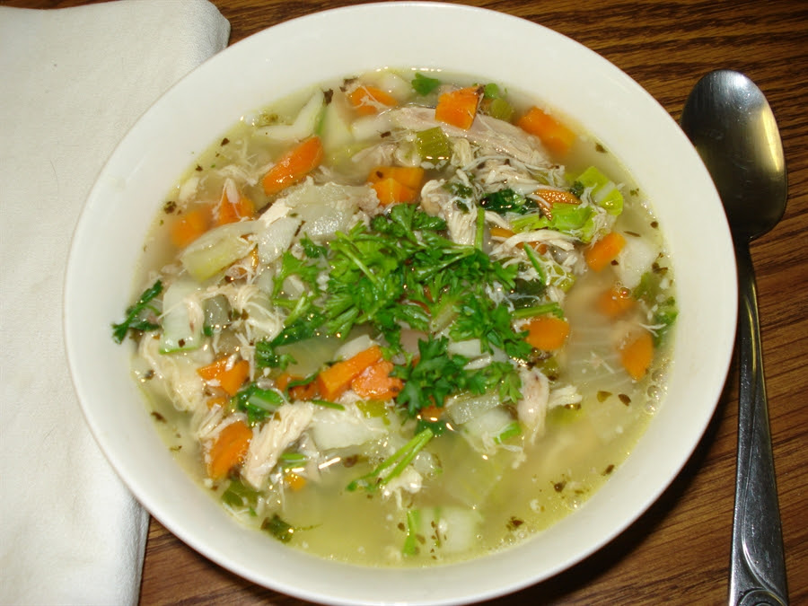 01 Chick n' Choy Homemade Soup