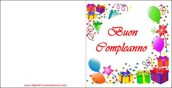 Biglietti Compleanno Inviti Compleanno Biglietti Auguri Compleanno