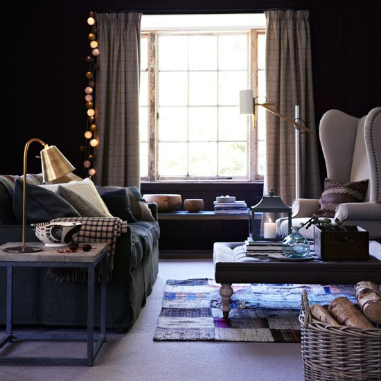Cosy country living room with statement furniture | Design ideas | Housetohome | PHOTOGALLERY