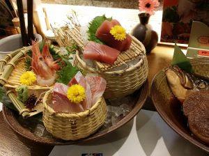 日本海庄や 刺身盛り合わせ