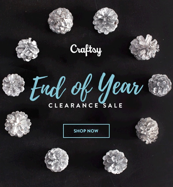 Craftsy End Of Year Clearance