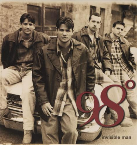 Image result for 98 degrees invisible man