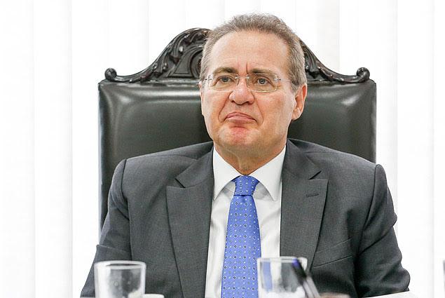 Renan Calheiros (PMDB-AL), presidente do Senado, que criticou a articulação política do governo