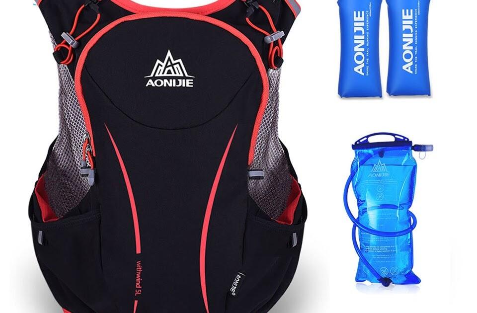AONIJIE 5L corriendo bolsa mochila bolsa de hidratación al aire libre bolsa  de deporte chaleco súper luz para ciclismo escalada senderismo Camping  corriendo ... fc577418dea52