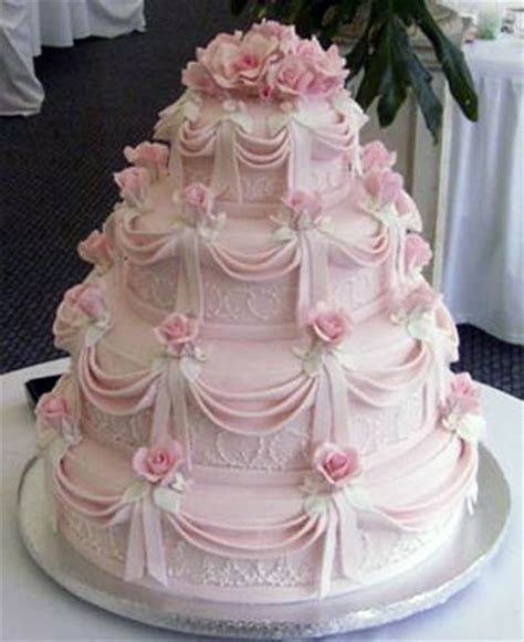Pink Wedding Cakes   Best of Cake