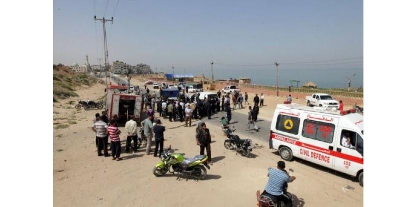 Un Palestinien a été tué mardi matin et un autre blessé lors d'un raid aérien israélien sur la ville de Gaza, ont indiqué les services des urgences dans le territoire palestinien gouverné par le Hamas. (c) Afp