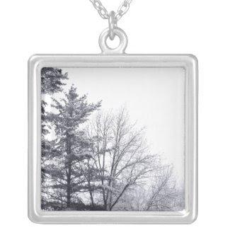 Snow-covered Trees: Horizontal