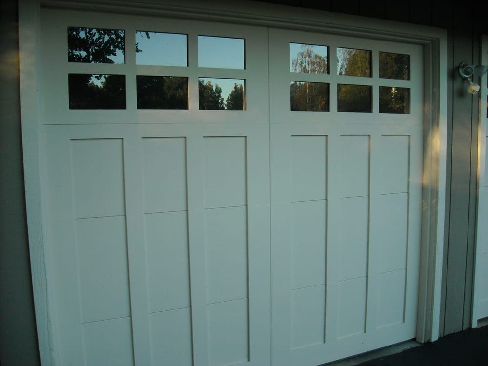 Single car carriage house door | Yelp