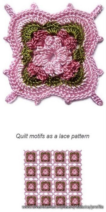 """This motif is totally """"off the wall"""" GORGEOUS! Looks so Victorian! Diagram to follow. ¯\_(ツ)_/¯"""