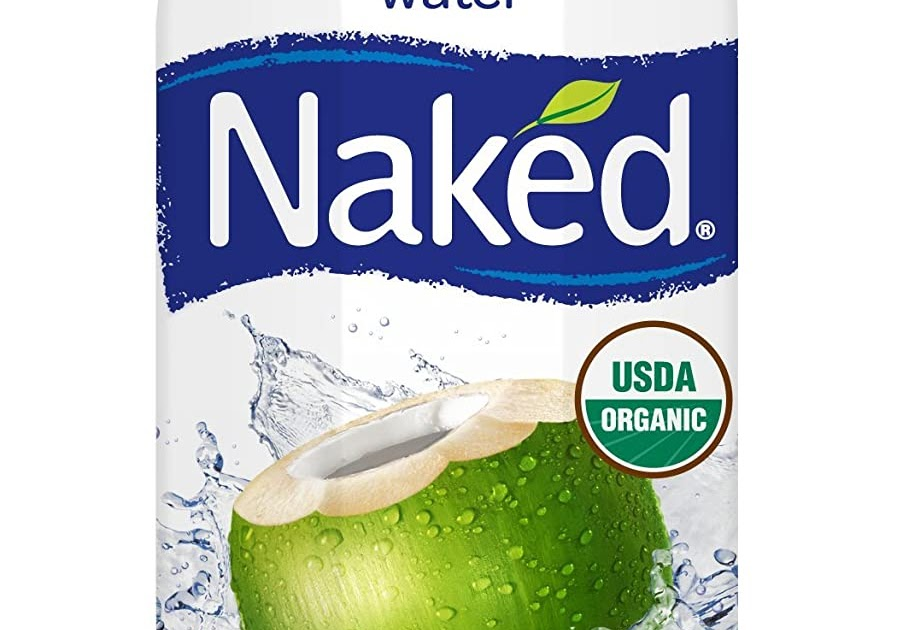 Naked Organic Pure Coconut Water USDA Organic Certified
