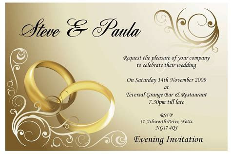 Wedding Reception Cards Wording India. Wedding Borders For