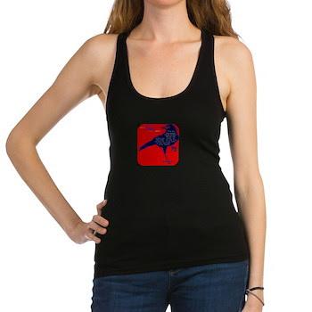 Crow Symbol Racerback Tank Top