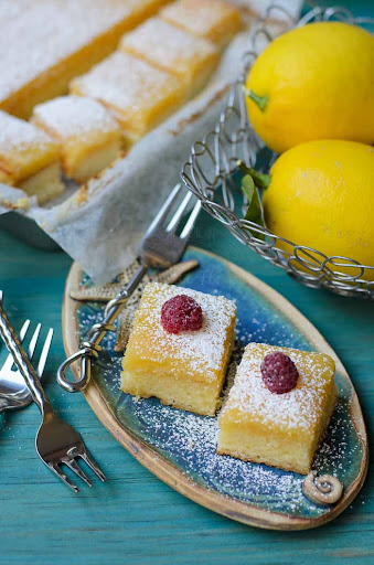 """Upside Down"" Lemon Slice"