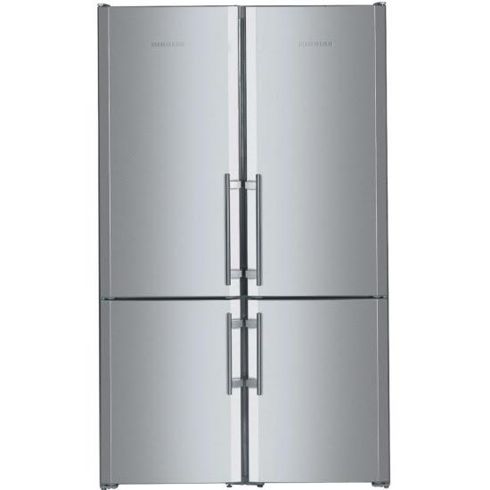 LG großer Kühlschrank Wasserspender Eiswürfelberater Stahl