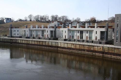condos and river
