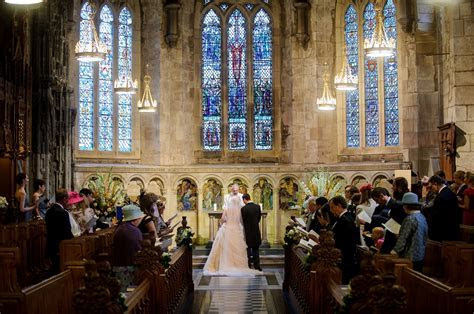 Brittany & Miles' wedding at St Salvator's Chapel, St
