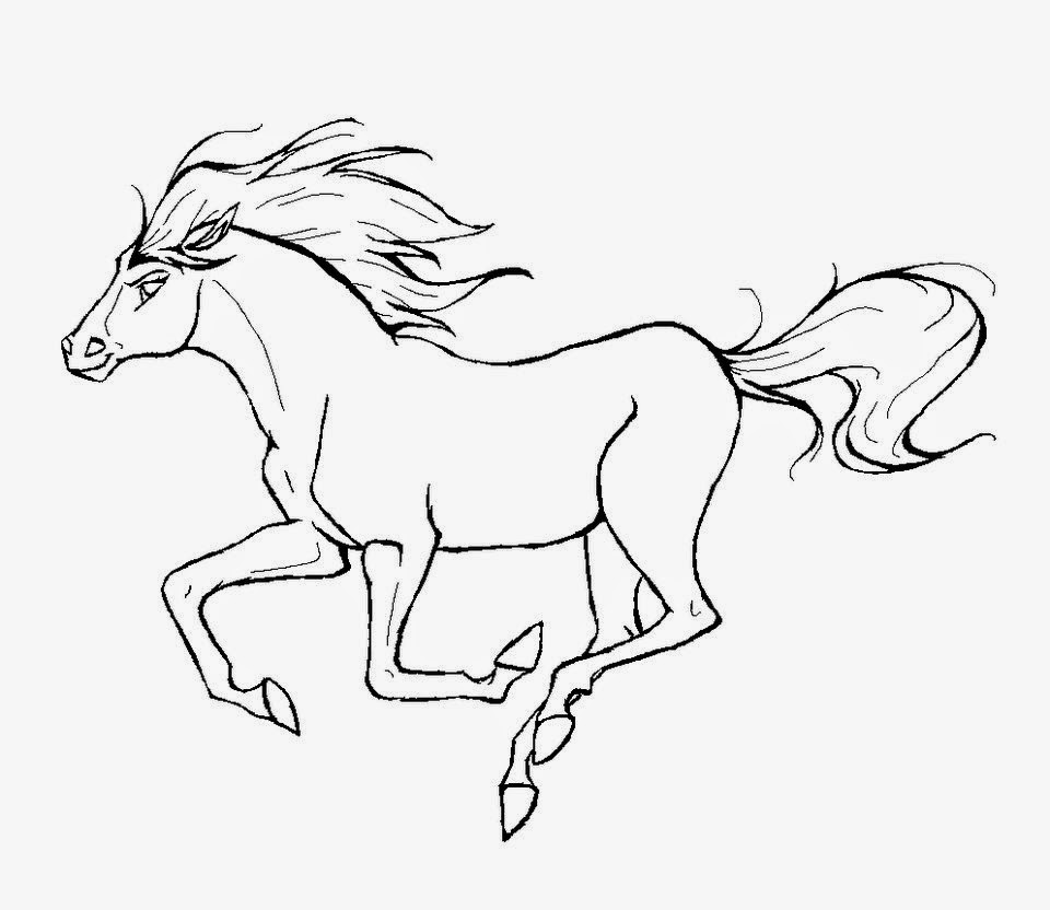 Horse Coloring Pages Games at GetColorings.com | Free ...