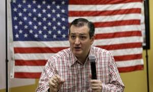 Republican presidential candidate Senator Ted Cruz