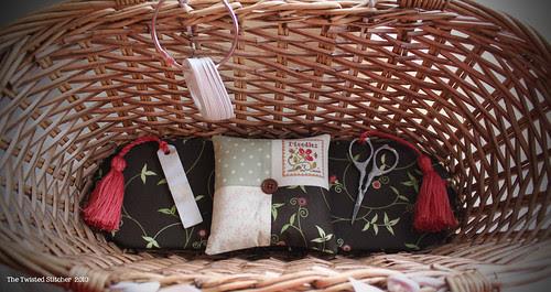Little House Travelling Stitcher basket