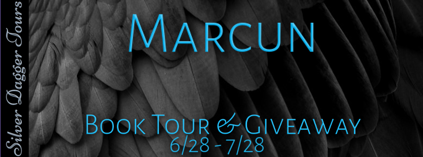 Book Banner for $25 Amazon Gift Card Giveaway in Paranormal Romance Marcun, from the Sky Warriors series, by Sadie Carter Book Tour