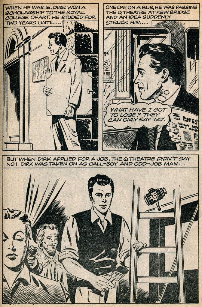 Dirk Bogarde comic 2