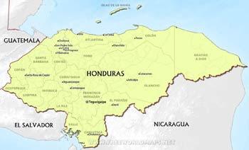 honduras political small