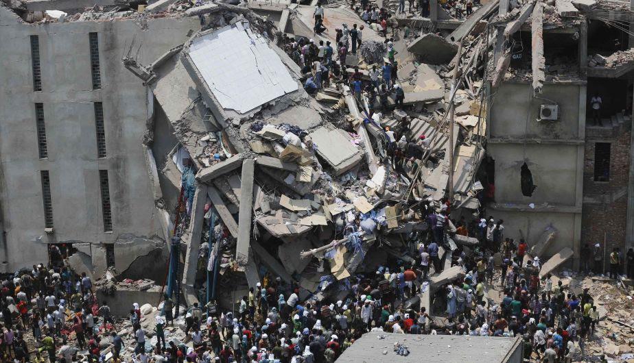 Accidente, Heridos, Muertos, Derrumbe, Colapso, Centro Comercial, Estructura, Bangladesh, Fábrica de ropa, Operativos de Rescate