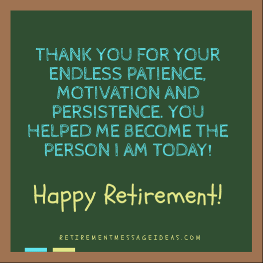 Retirement Wishes For Teachers 50 Amazing Examples Retirement