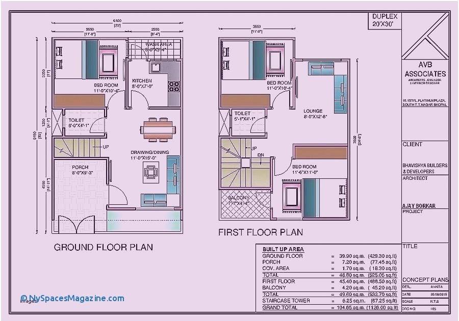 Floor Plan 40 Sqm House Design 2 Storey House Storey