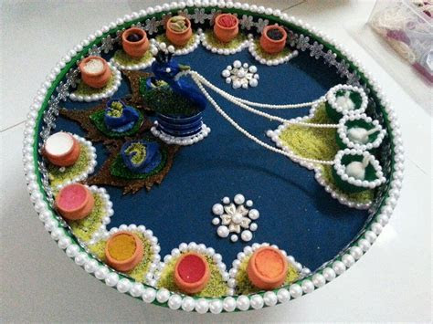 Aarti decoration   DIY & Crafts that I love   Diwali