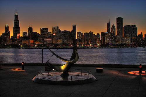 Chicago skyline - Budget Fall Break Ideas For The Shoestring Traveler