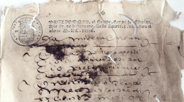 Resultado de imagen de conservación en archivos andaluces