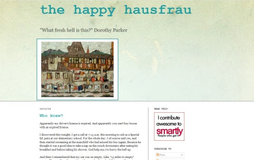 the happy hausfrau