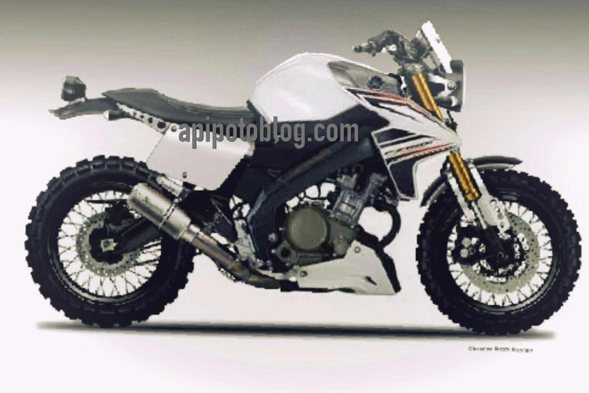 Modifikasi Yamaha Vixion Scrambler Konsep Keren Juga Nih