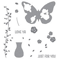 Floral Wings Photopolymer Stamp Set by Stampin' Up!