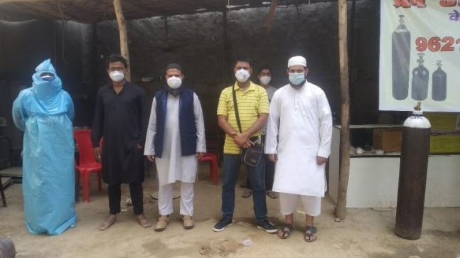 Muslim welfare society 'Insaniyat' provides free oxygen to Covid-19 patients in Lucknow https://ift.tt/2SDubSL