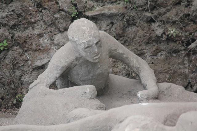 Pompeii - Garden of the Fugitives