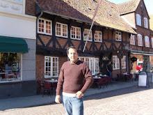 En la vieja ciudad de Ribe DK