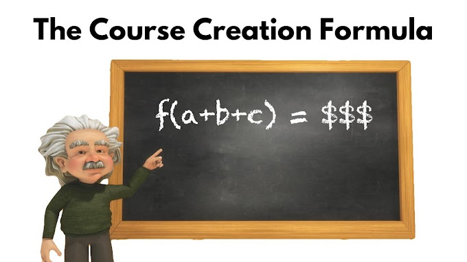 Discover My Course Creation Formula and Learn How To Make a Living From Teaching Online -Skillshare Free Course With