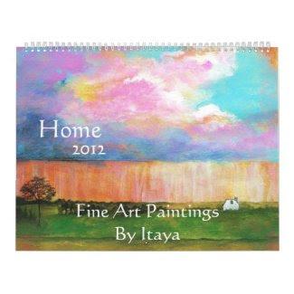 HOME 2012 HUGE Calendar Fine Art Paintings calendar