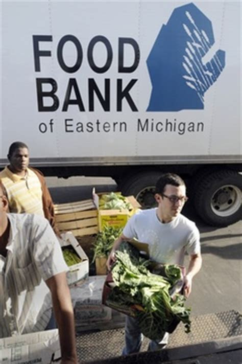 food bank  eastern michigan services  record number