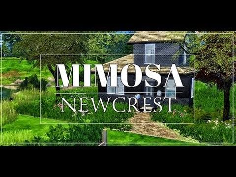 SIMS 4 || HOUSETOUR || MIMOSA [DOWNLOAD incl.CC]