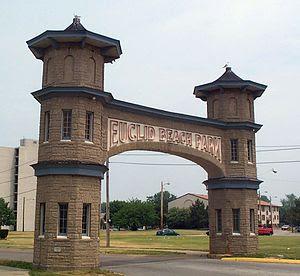 Euclid Beach Park Gateway Arch