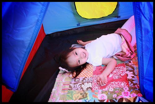 play tent fun