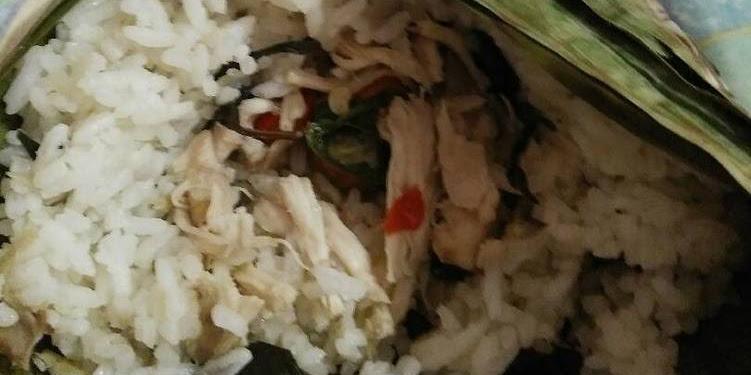 Resep Nasi Bakar Teri Medan Plus Ayam Oleh Indah Handayani