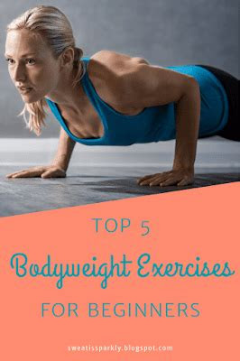 top  bodyweight exercises  beginners  images
