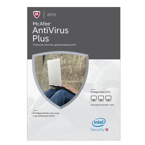 Antivirus McAfee PLUS 2015